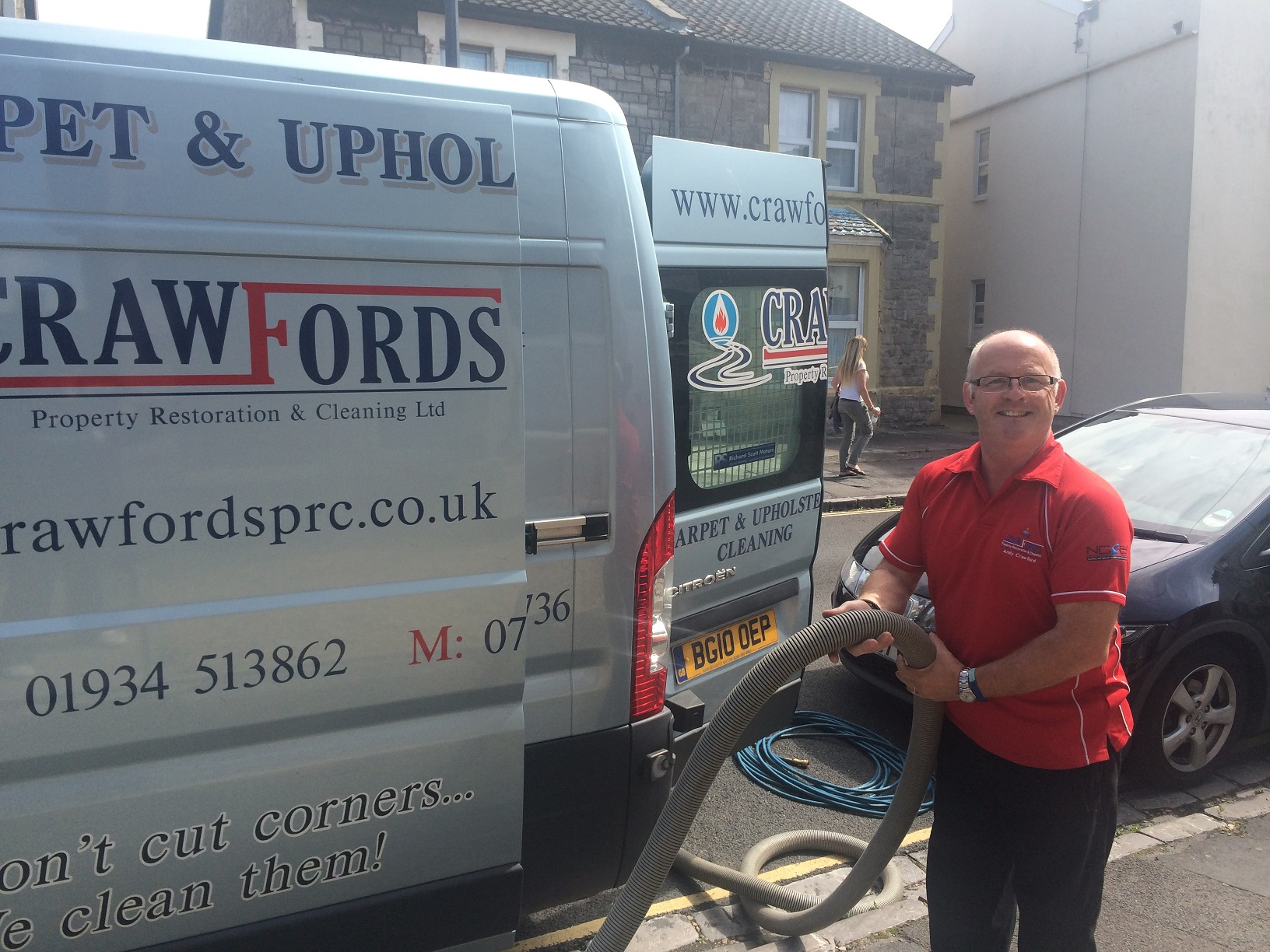 Carpet Cleaning Andy Crawfords Weston super Mare Somerset