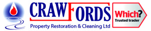 Carpet Cleaning Flood Storm Damage Repair Weston super Mare Taunton CrawfordsPRC 2015 Logo