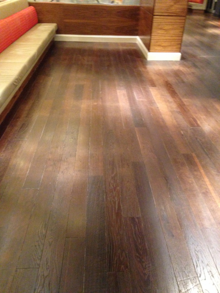 Wooden Floor Polishing Cleaning 2016 Hotel CrawfordsPRC - 3