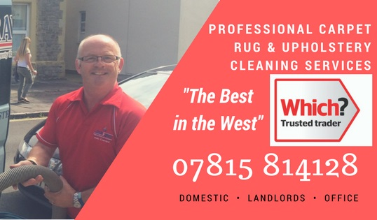 Carpets Rugs Cleaning company weston super mare somerset Bristol
