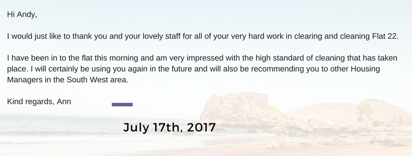 Housing Association Testimonial July 2017