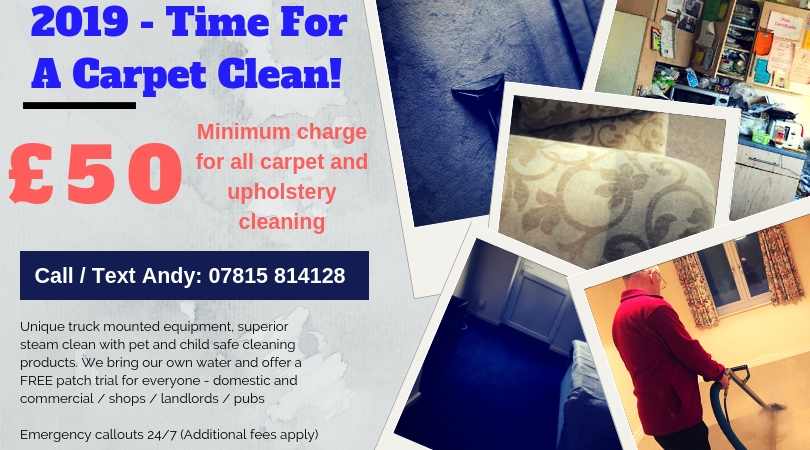 Carpet Upholstery Curtains Cleaning Domestic Commercial Weston super Mare Somerset